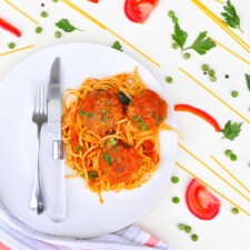 GRASS-FED MEATBALL/SPAGHETTI (MEAL DEAL)
