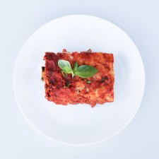 HIGH PROTEIN/LOW CARBOHYDRATE BEEF LASAGNE